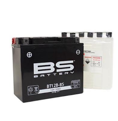 Μπαταρία Μοτοσυκλέτας BS Battery για Yamaha TDM 900