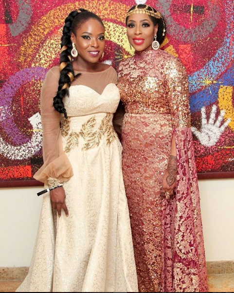 More dazzling photos from TWP2- Mo Abudu with her daughter, Kiki Osinbajo,Omotola,Rita Dominic