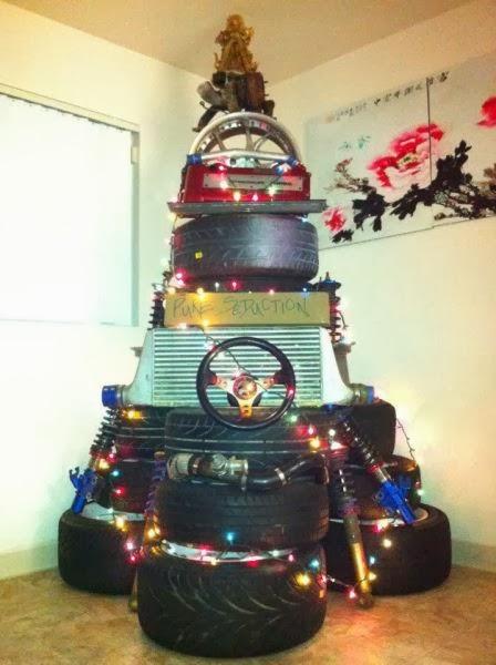 Econotas Com Decoracion Para Navidad Con Neumaticos Reciclados