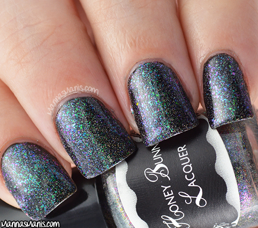 Honey Bunny Lacquer Karma Chameleon swatch
