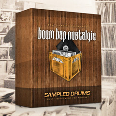 Hip Hop Drum Kit: 'Boom Bap Nostalgic'
