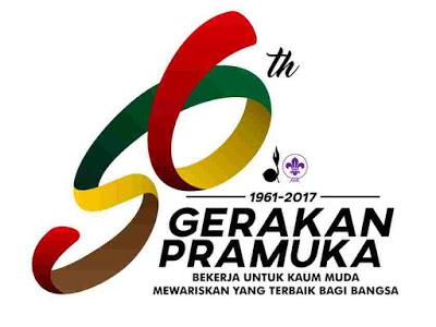 logo peringatan hari pramuka ke-56