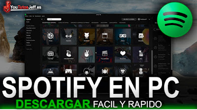 SPOTIFY en PC, Descargar SPOTIFY en PC, Como Descargar SPOTIFY en PC