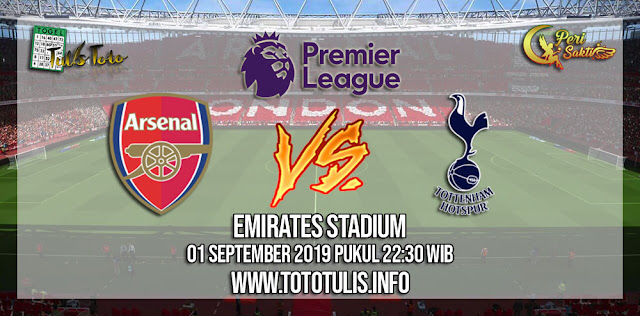 Prediksi Arsenal vs Tottenham Hotspur 01 September 2019