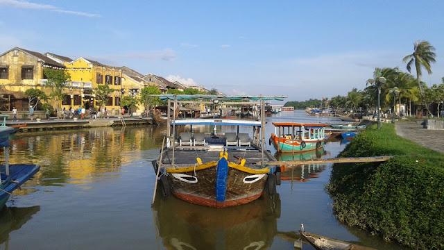 Barcos con ojos de Hoi An
