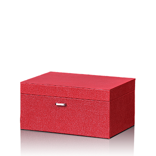 6674-Leatherite Red Jwel. Box-Rs. 2,990-