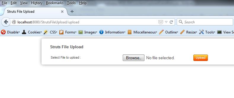 Java / Struts - File Upload (csv as zip) , Save , Unzip