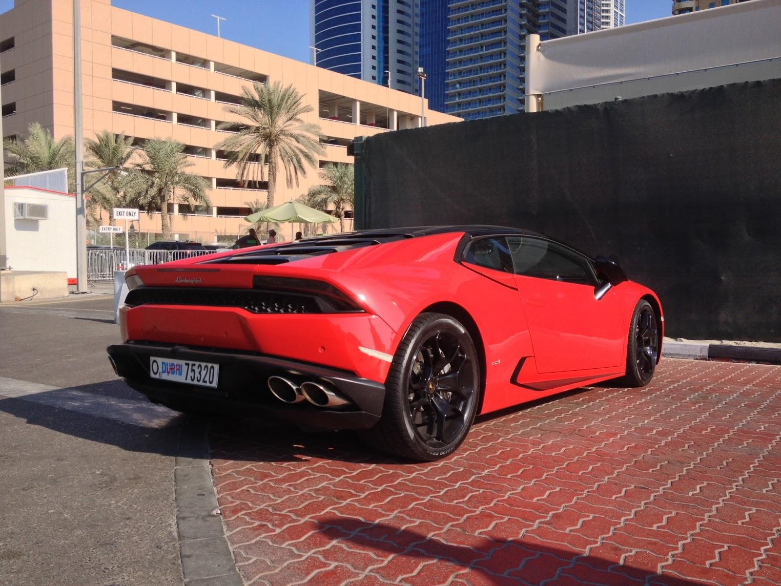 Lamborghini Huracan tył
