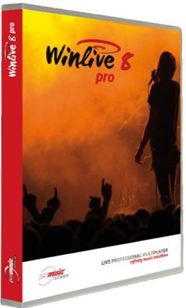 WinLive Pro 8.0.01 poster box cover