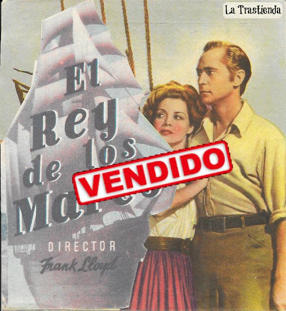 Programa de Cine - El Rey de los Mares - John Carroll - Franchot Tone