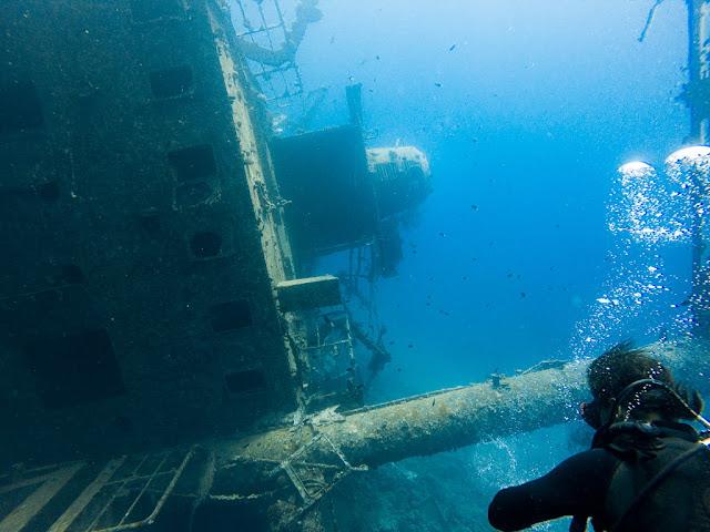 Cedar Pride, barco hundido, Aqaba, mar Rojo, Jordania