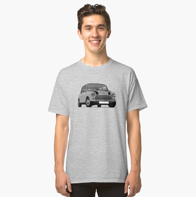 Gray Morris Mini - Austin Mini T-shirt