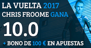Paston Megacuota 10 Chris Froome ganador la Vuelta 2017 10 septiembre