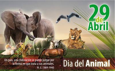 29 de Abril – Día del Animal