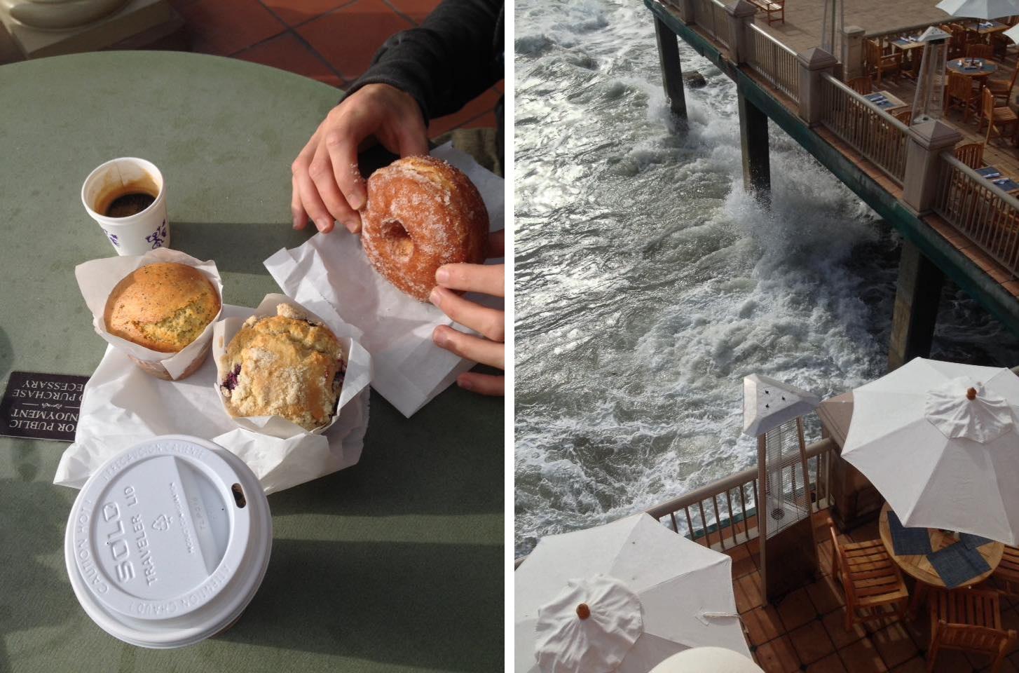 Monterey, petit-déjeuner