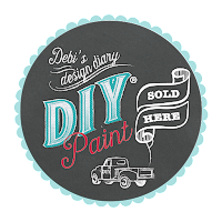 chalk & clay paint, diy paint, debi beard, painted furniture, chalk paint