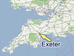 map university of exeter
