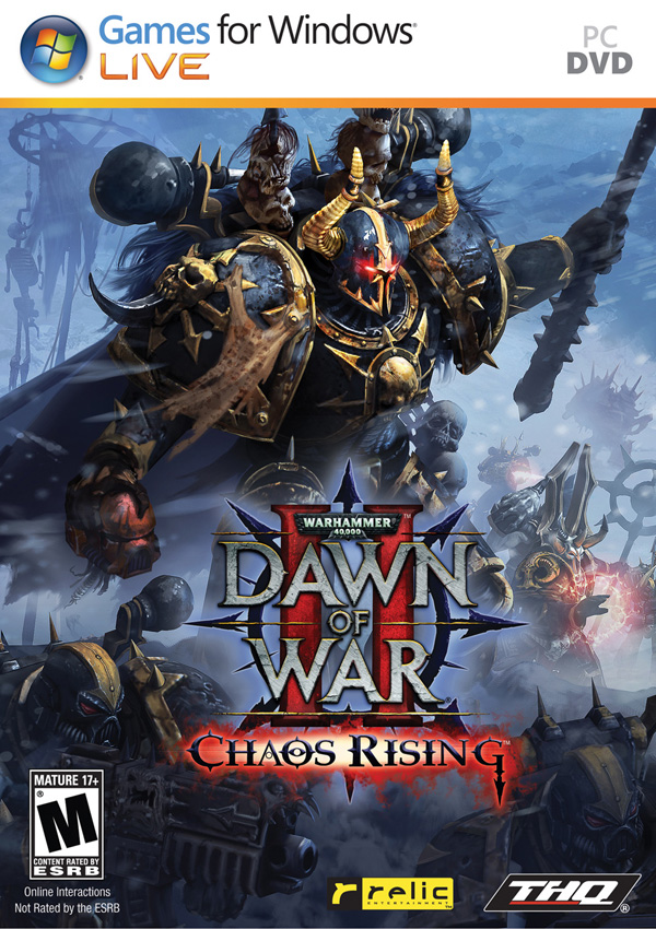 Warhammer 40000 Dawn of War II Chaos Rising Download Cover Free Game