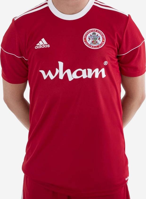 Adidas lança a nova camisa titular do Accrington Stanley - Show de ... 10e0d5677fc0f