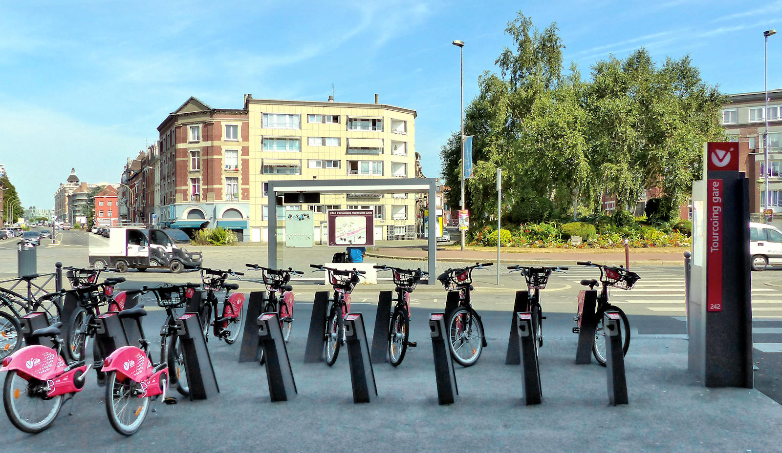 Gare - Station V'Lille, Tourcoing