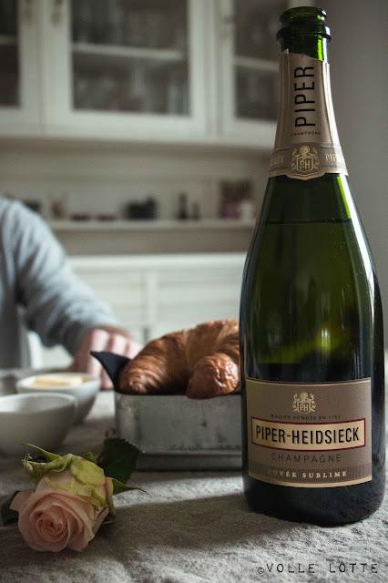 Champagner, Frühstück, Rezept