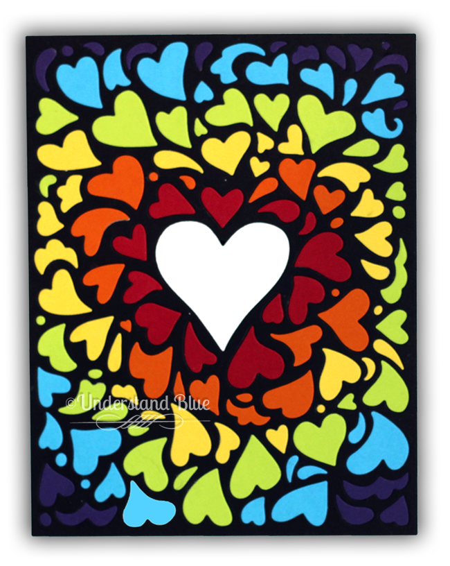 Window On Love card by Understand Blue