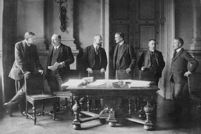 La segunda guerra mundial parte 1 de 4 Tratado-Versalles