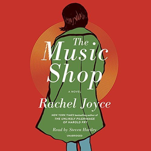 The Music Shop cover for audiobook in the U.S.