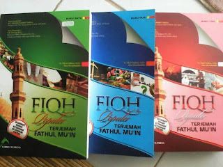 Buku Fiqh Populer, Terjemah Fathul Mu'in 3 Jilid Toko Buku Aswaja Surabaya