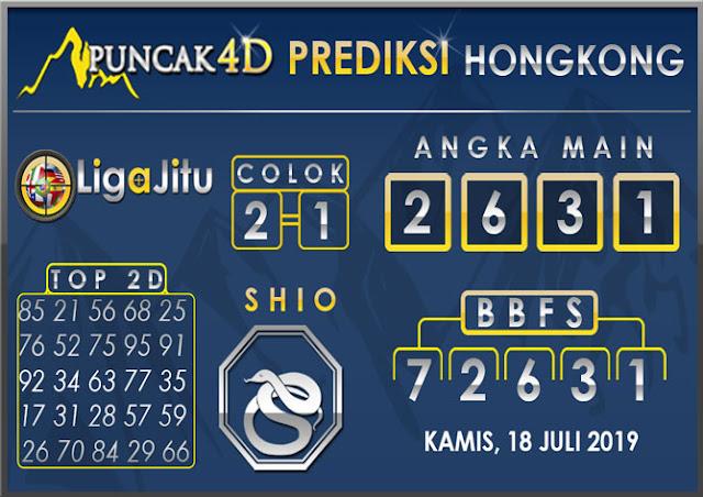 PREDIKSI TOGEL HONGKONG PUNCAK4D 18 JULI 2019