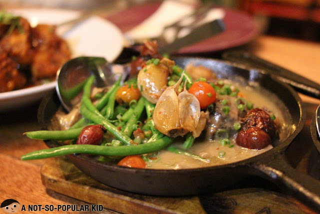Sizzling Sinigang of Locavore