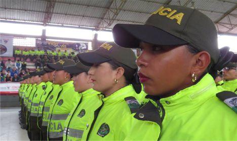 Coronel Chavarro anunció el aumento de diez unidades para fortalecer el pie de fuerza en Facatativá