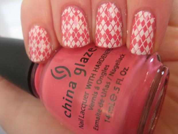 nails life girly nail design