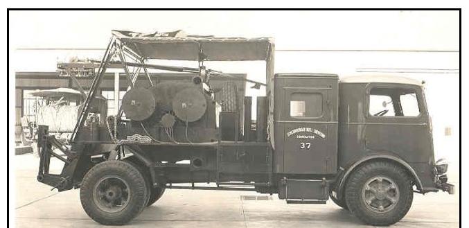 PrunePicker: The last canvas covered Schlumberger logging truck