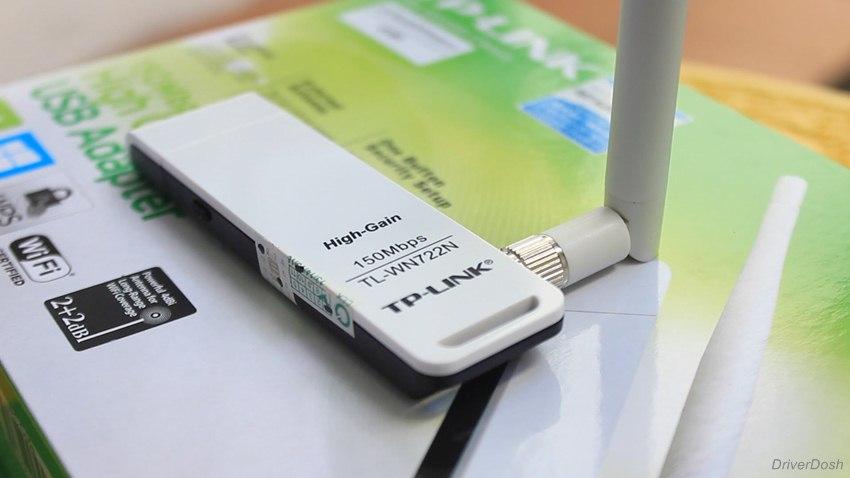 TP-LINK TL-WN722N Wireless USB Adapter driver
