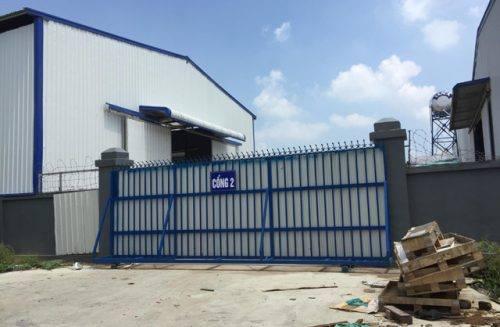 Phía công ty TNHH STP đã tự ý mở 2 cổng phụ trái phép