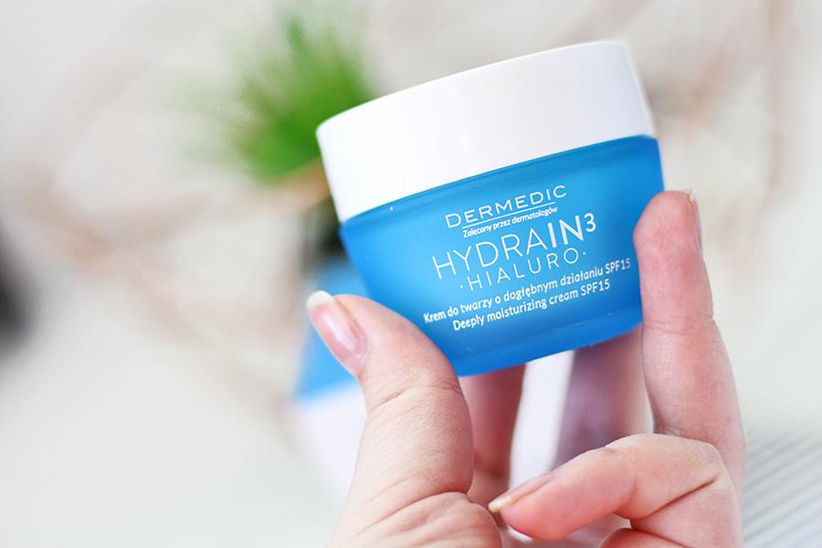 Hydrain3 Hialuro - Krem nawilżający o dogłębnym działaniu SPF 15