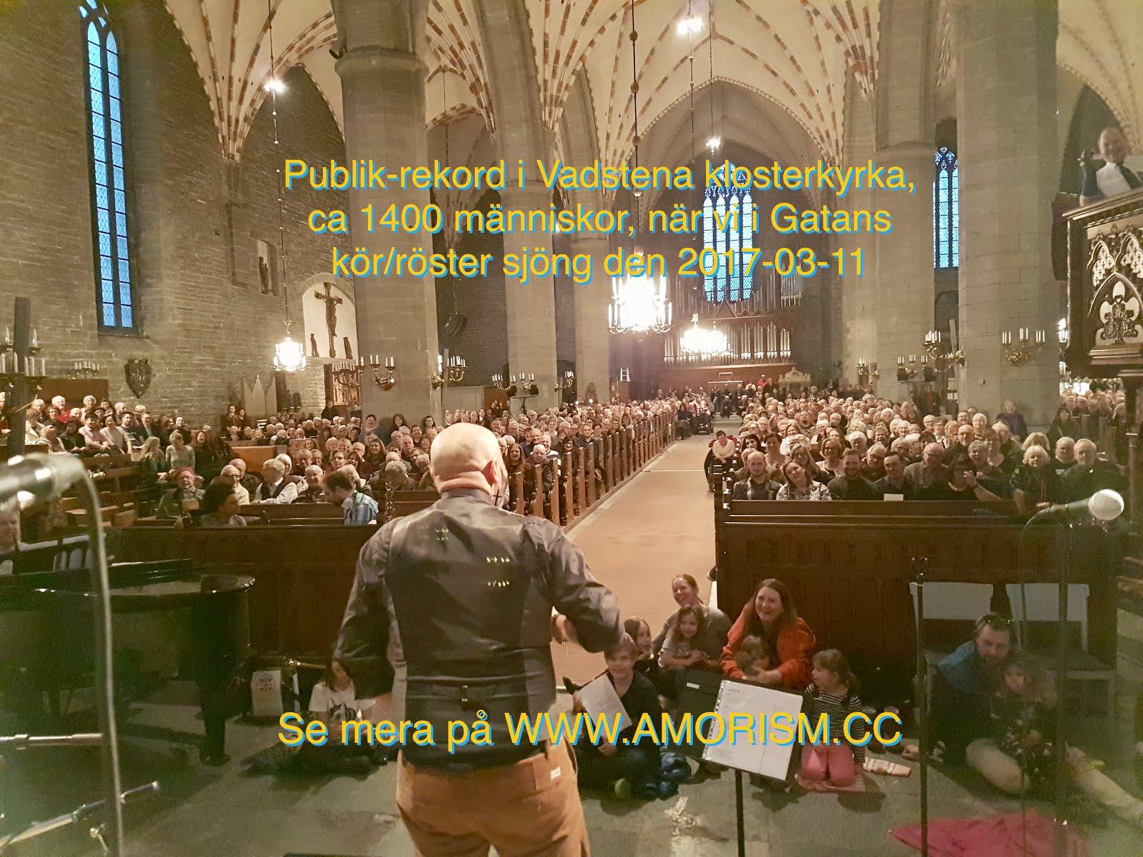 Bild Publikrekord i Vadstena klosterkyrka