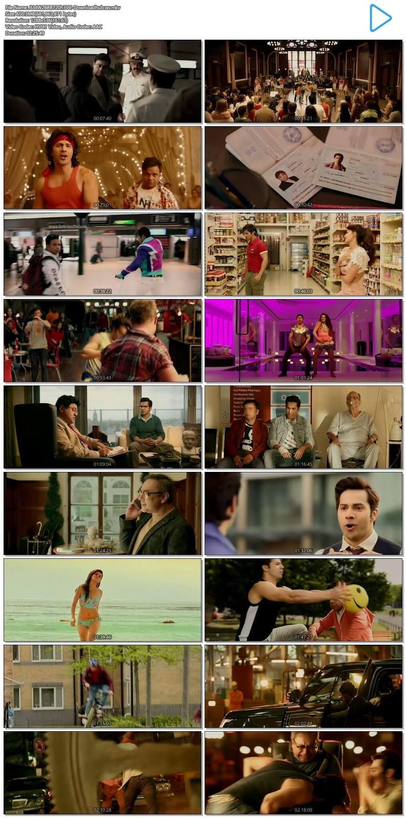 Judwaa 2 2017 Hindi 720p HEVC BluRay ESubs
