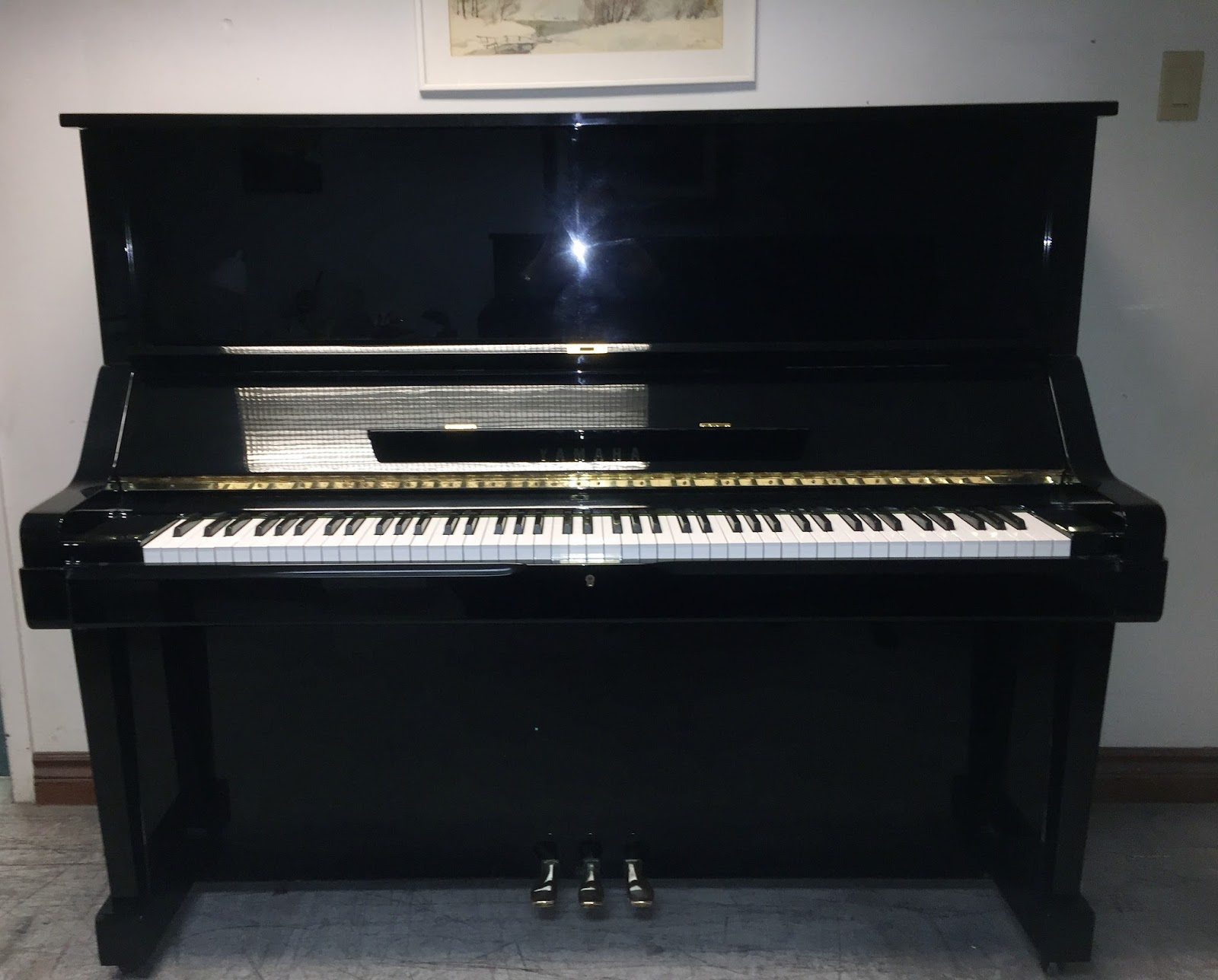 Used piano sale in toronto area yamaha ux ux3 52 for Yamaha piano upright
