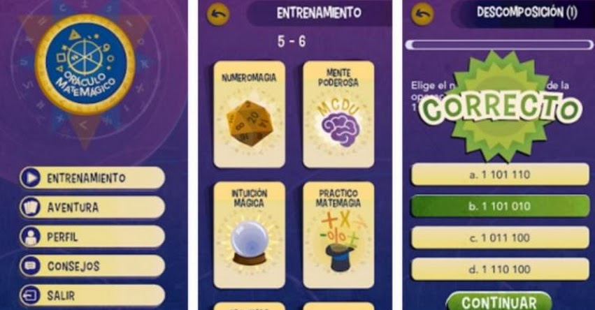 ORÁCULO MATEMÁGICO: Conoce la App interactiva para aprender matemáticas mientras juegas [VIDEO]