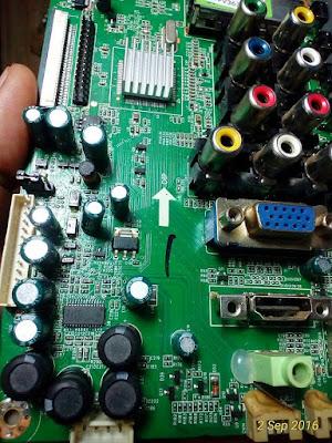 Perbaikan Masalah Tidak Keluar Suara Pada TV TSUMV59