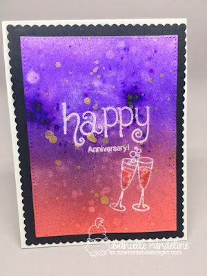 Happy Anniversary | Newtons Nook Designs | Card created by Danielle Pandeline