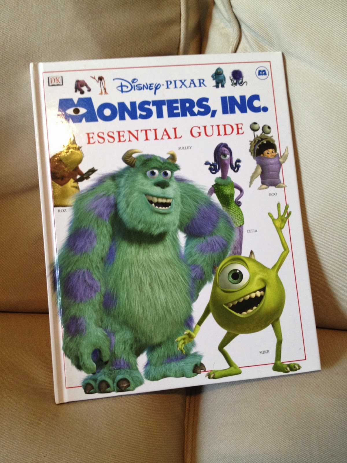 Dan The Pixar Fan Monsters Inc The Essential Guide