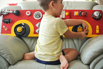 car activity board the best toy for boys and girls
