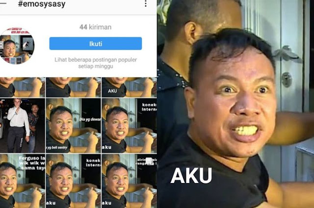 Viral, Meme Kocak Aksi Vicky Prasetyo Grebek Rumah Angel Lelga Muncul di Instagram