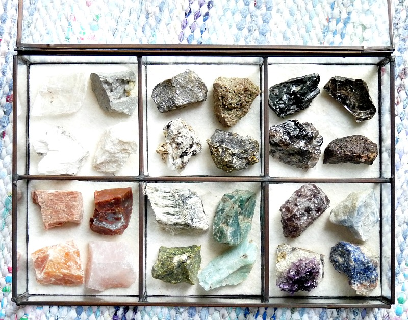 How to Stylishly Display a Small Rock Collection