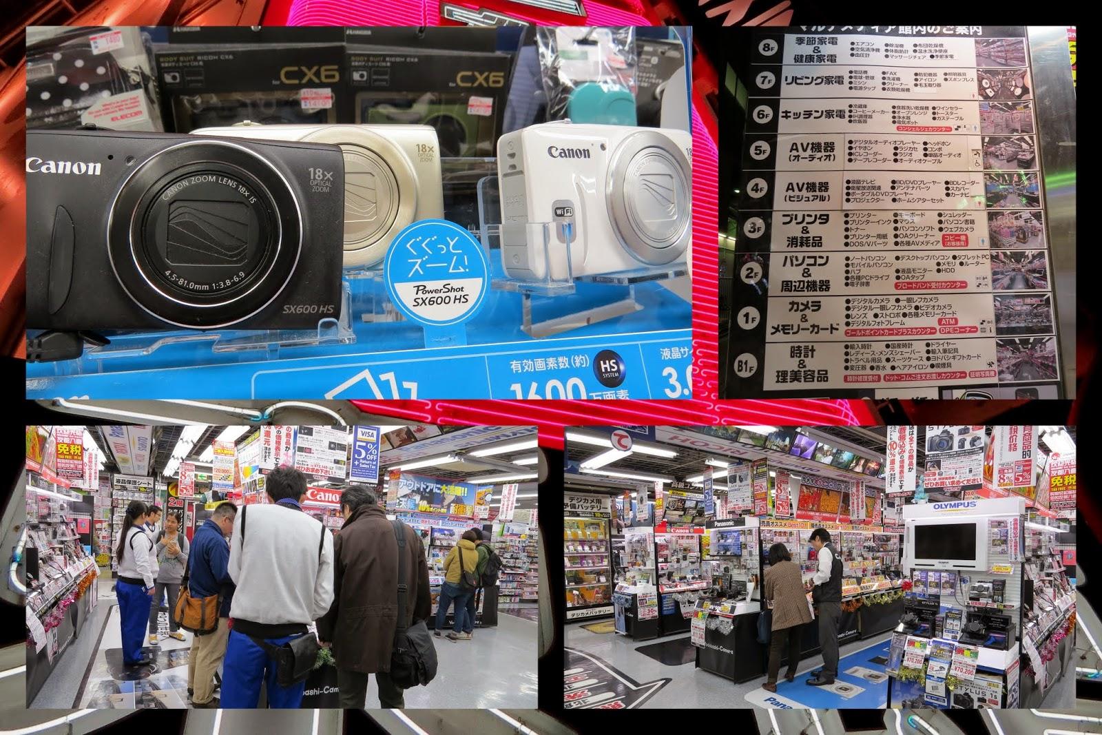 Electronics Shopping in Tokyo