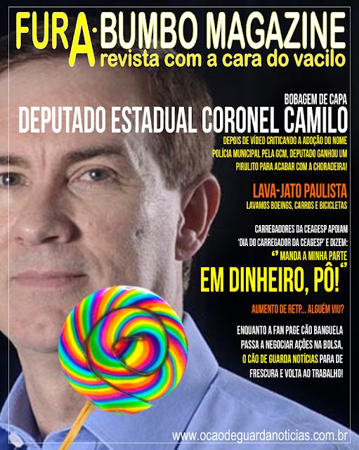 Fura-Bumbo Magazine: Deputado, Lava-jato e RETP