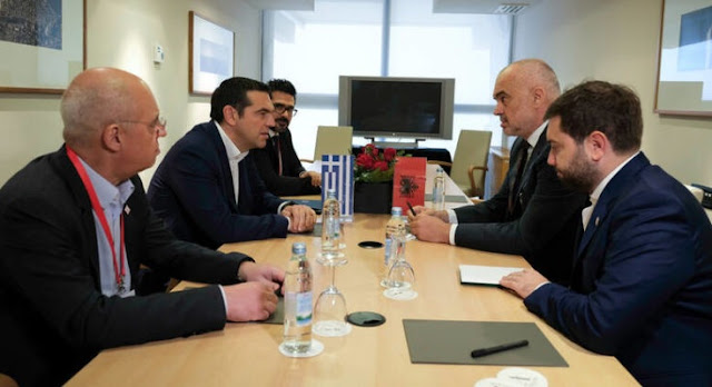 Alexis Tsipras to Rama: Greek's minority rights in Albania, the condition for EU membership